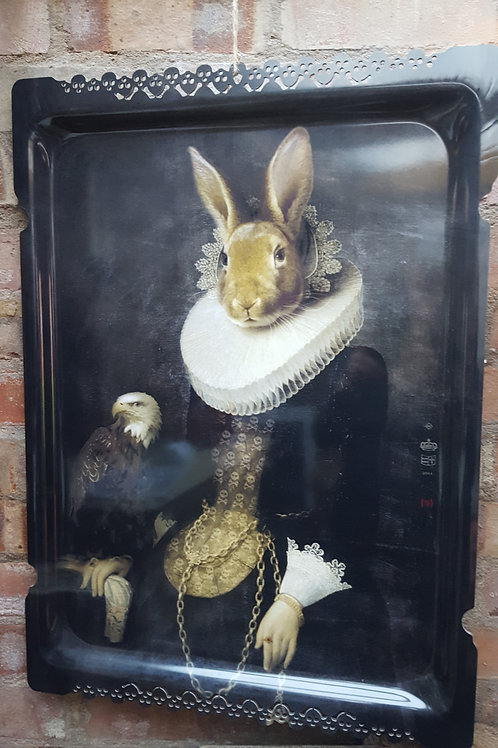 """""""Ibride Zhao the Hare"""" Picture & Tray-in-one"""