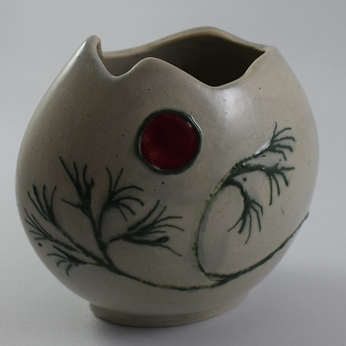 Japanese Tree Of Hope Small purse Vase