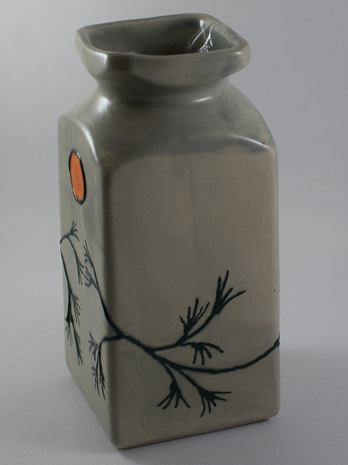 Japanese Tree Of hope Small square Vase