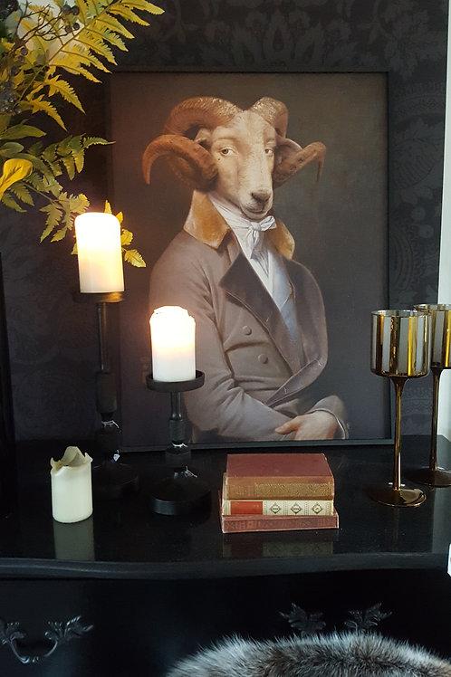"""Ibride Bel Ami the Ram"" framed limited print"