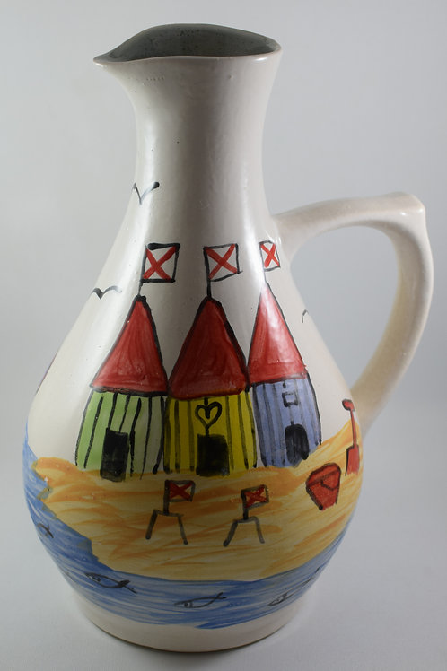 Beach Huts large Jug