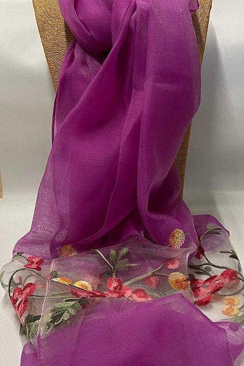 Vietnamese silk scarves