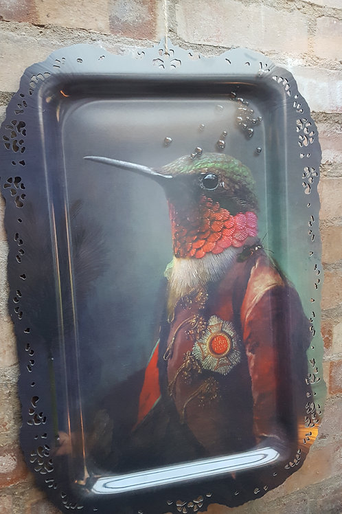 """""""Ibride Ambroise Hummingbird Picture & Tray-in-one"""""""