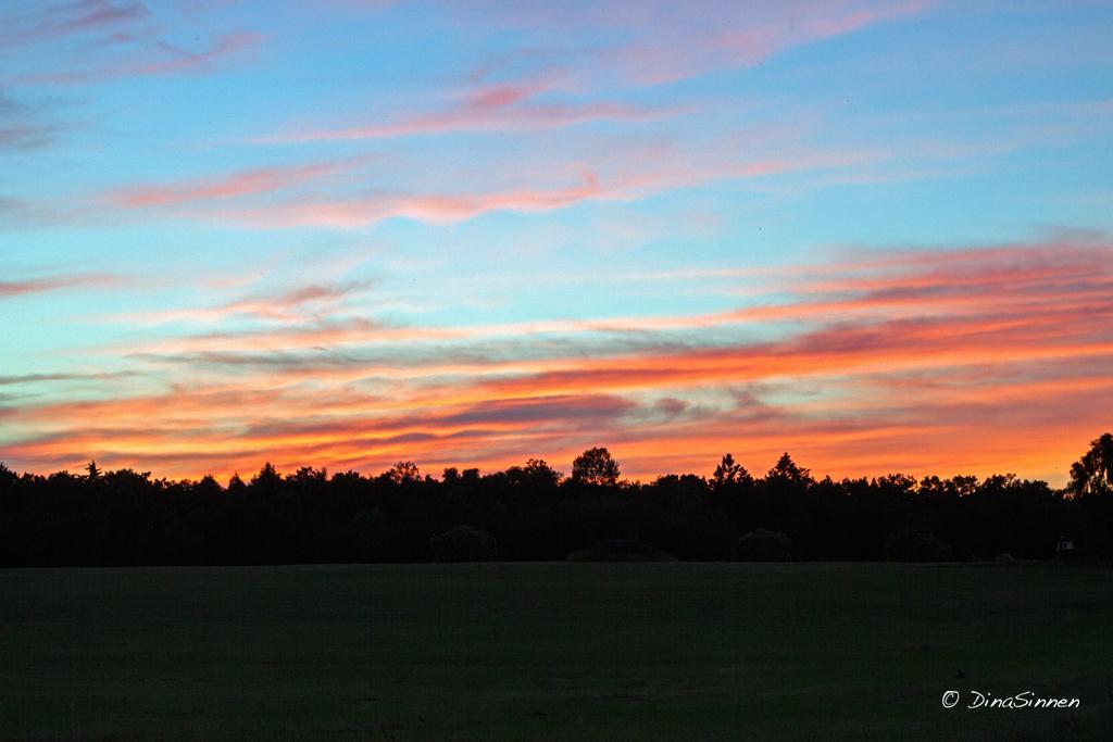 Himlens vackra färger