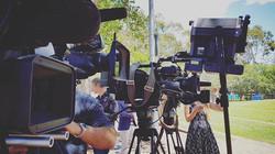 Media await Westmead Childrens Hospital