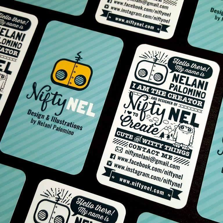 Nifty Nel Business Cards