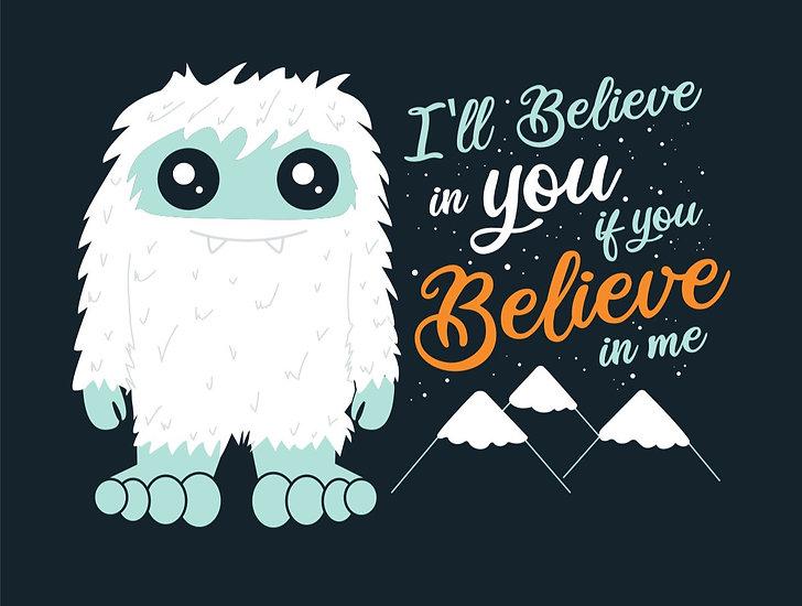 I Believe Yeti