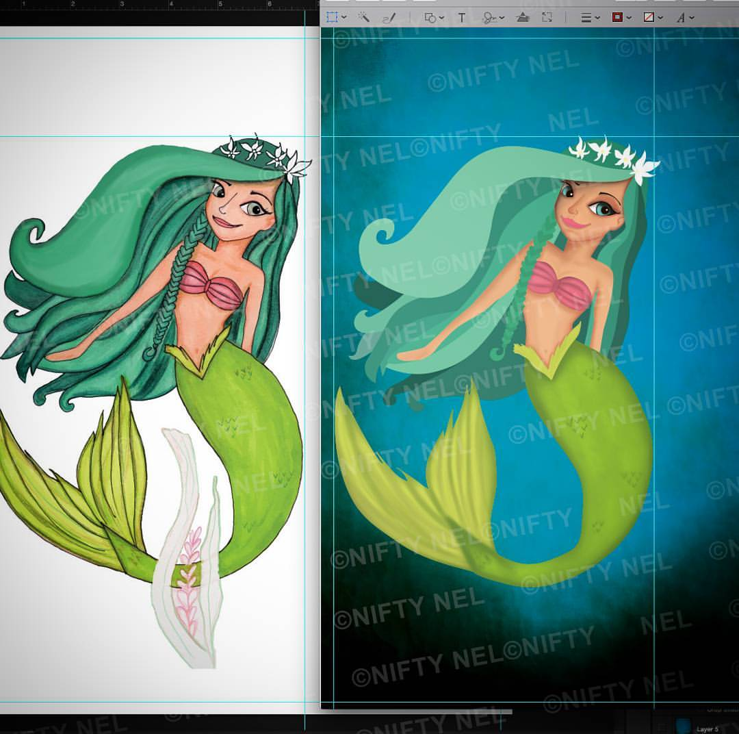 Mermaid progress