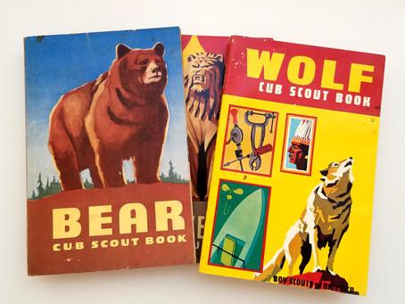 1954 BEAR Cub Scout Book