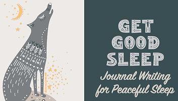 Ge Good Sleep free ebook journal writing guide