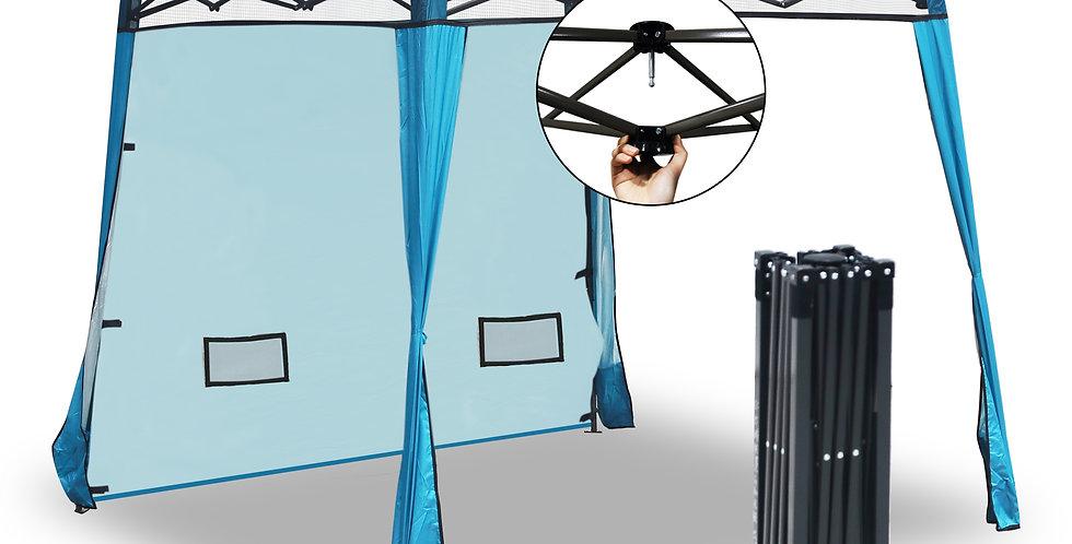 EzyFast Blue Elegant Ultra Compact Canopy (Sun Shade)