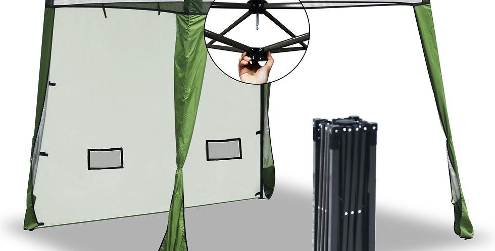 EzyFast Green Elegant Ultra Compact Canopy (Sun Shade)