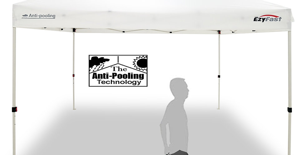 EzyFast Patented 12'x12' Pro Anti-Pooling Instant Beach Canopy