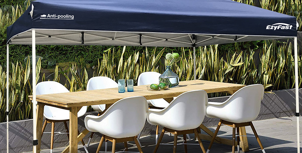 EzyFast 14'x10' Antipool Pro Canopy for Rain or Sunshine