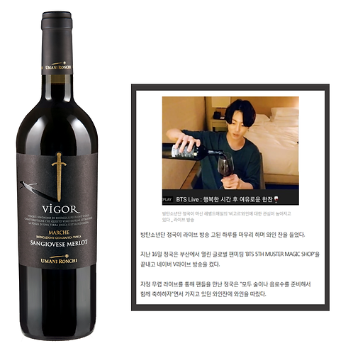 [Promotion] 비고르 - BTS '정국' 와인