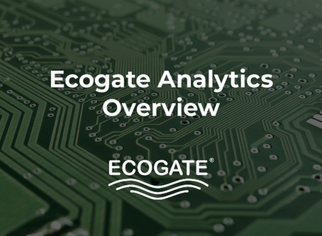 Overview of Ecogate Analytics