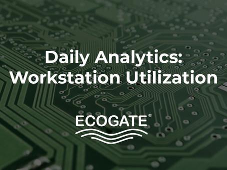 Daily Analytics Report - Workstation Utilization