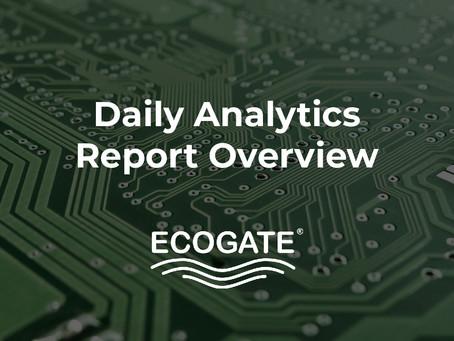 Ecogate's Daily Analytics Report