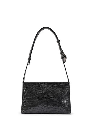 SALA Anthracite Snake Embossed Leather