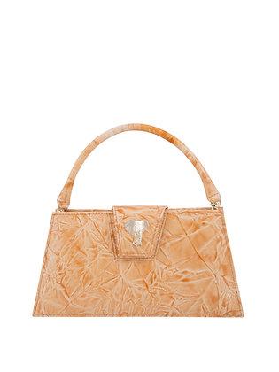 GAIA Peach Embossed Leather