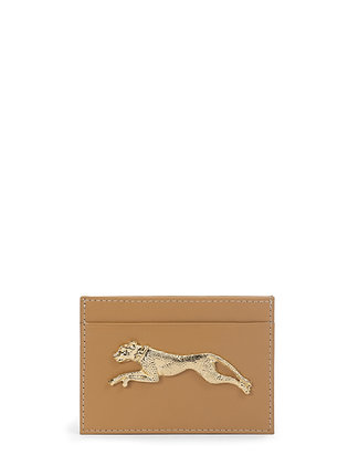 NAOMI Beige Card Holder