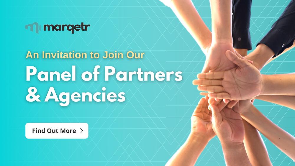 Marqetr   Panel of Partners & Agencies Invitation