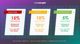 MARQETR | **ECF Early Bird Offer**