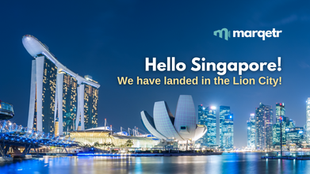Hello Singapore! We have officially landed in the Lion City!