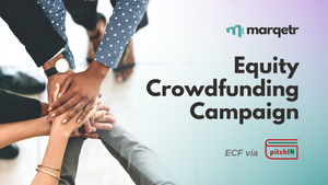 MARQETR Launches Equity Crowdfunding (ECF) via pitchIN