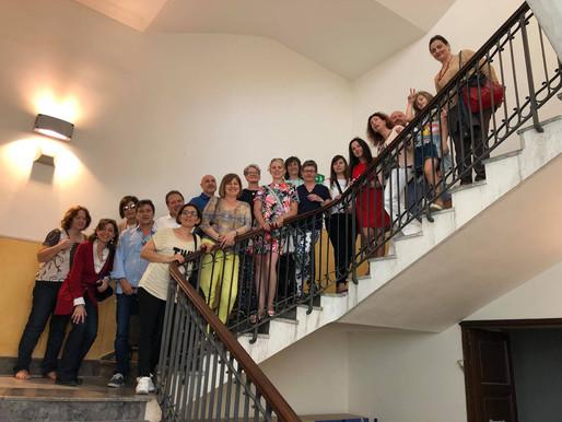 Nauczyciele z Radawnicy odwiedzają szkoły w Palermo na Sycylii.