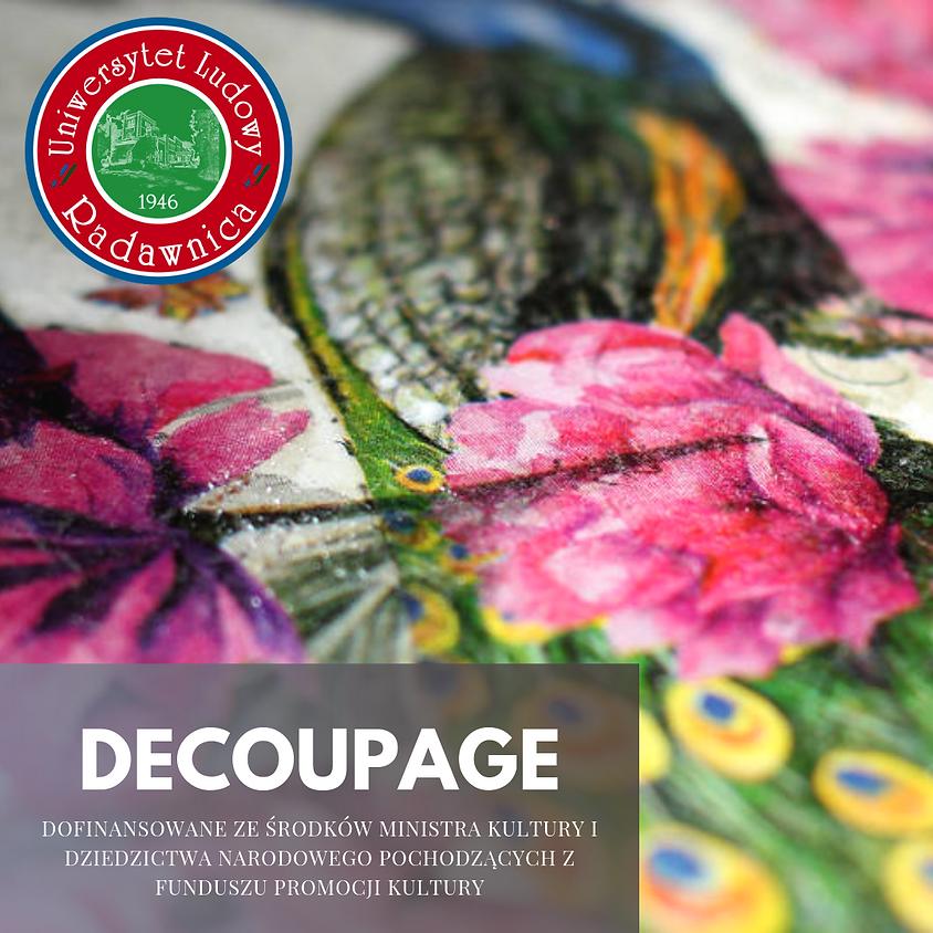 Decoupage warsztaty