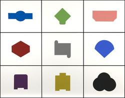 Blocks, Grid of 9: A59 - A67