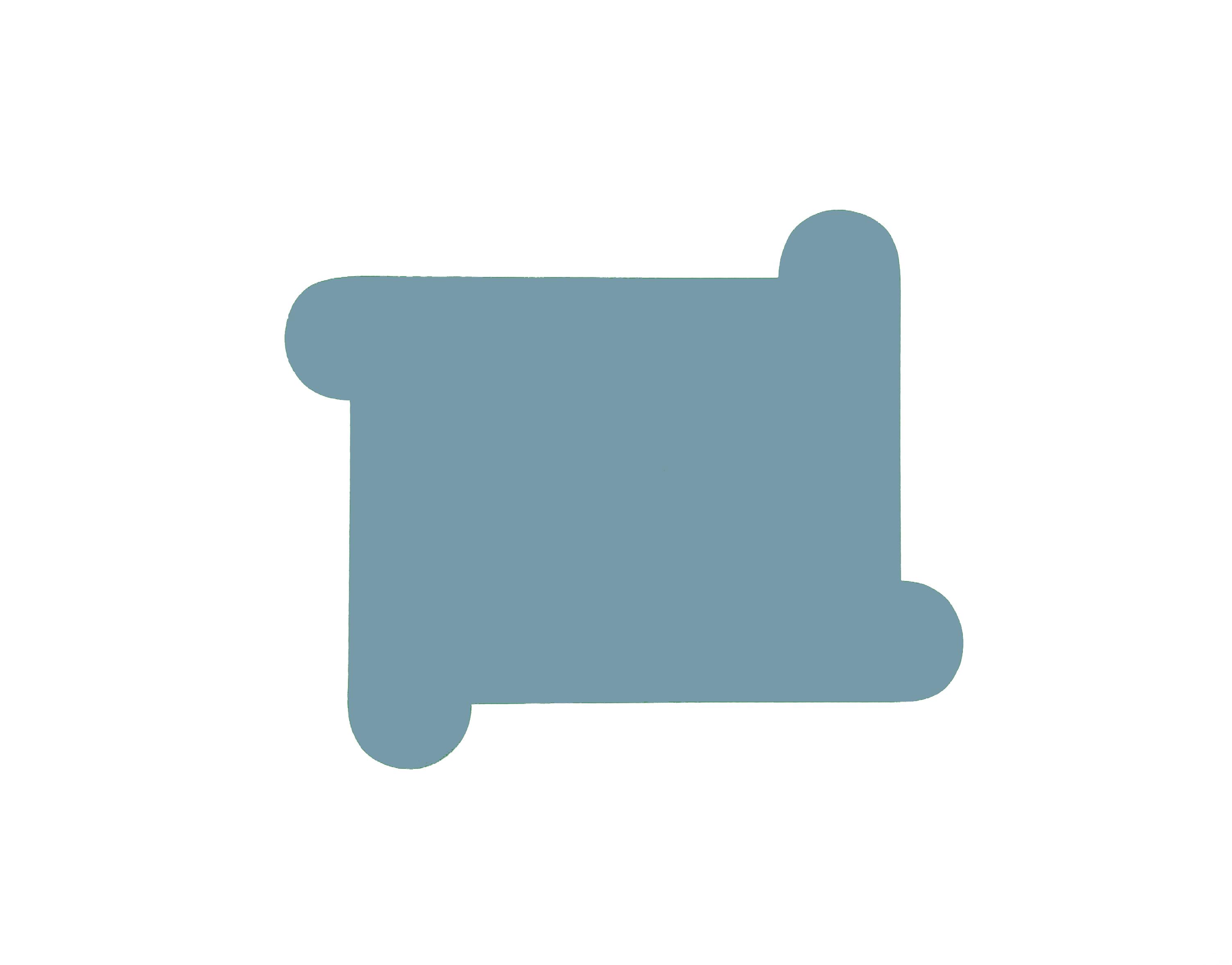 Blue Grey Pinwheel