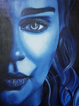 Daenerys Targaryen - Acrylics