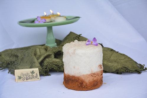 Warming Candle Cinnamon Fried Ice Cream