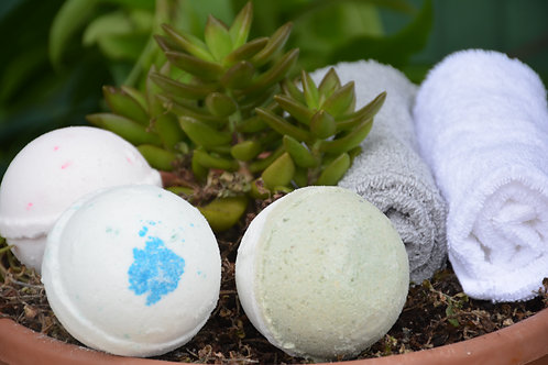 Bath Bomb Spearmint Rosemary