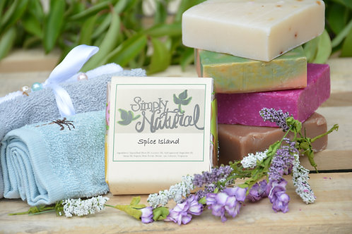 Spice Island All Natural Handmade Bar Soap