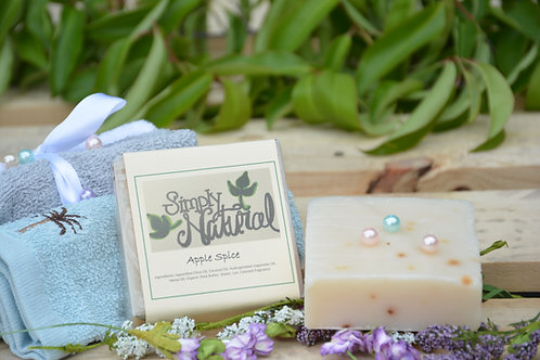 Apple Spice All Natural Handmade Bar Soap