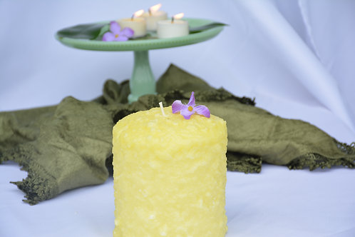 Warming Candle Vanilla Custard