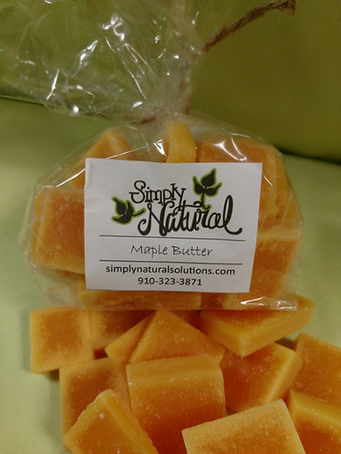 Scented Wax Wafer Maple Butter