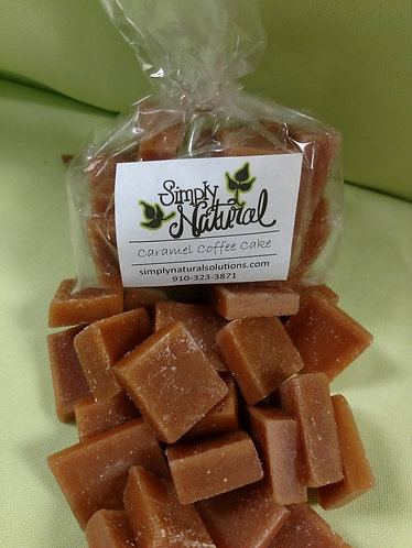 Scented Wax Wafer Caramel Coffee Cake