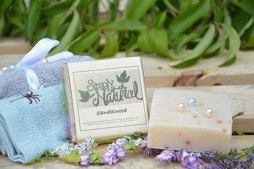 Sandalwood All Natural Handmade Bar Soap