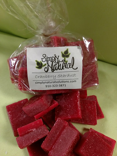 Scented Wax Wafer Cranberry Stardust