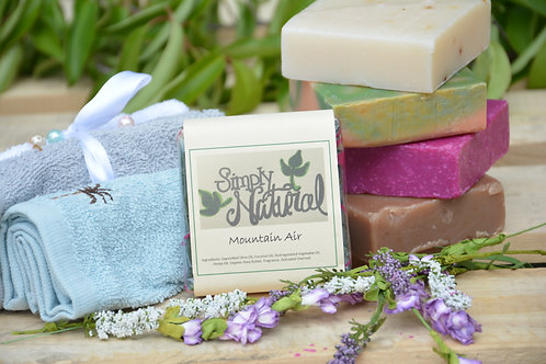 Mountain Air All Natural Handmade Bar Soap