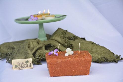 Warming Candle 2-Wick Loaf Pumpkin Crumb Cake