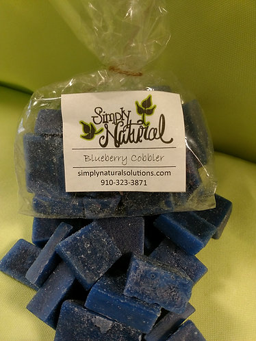 Scented Wax Wafer Blueberry Cobbler