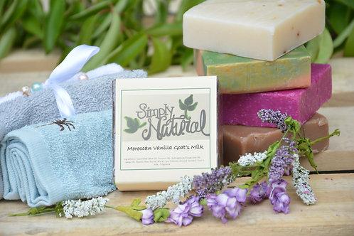 Moroccan Vanilla All Natural Handmade Bar Soap