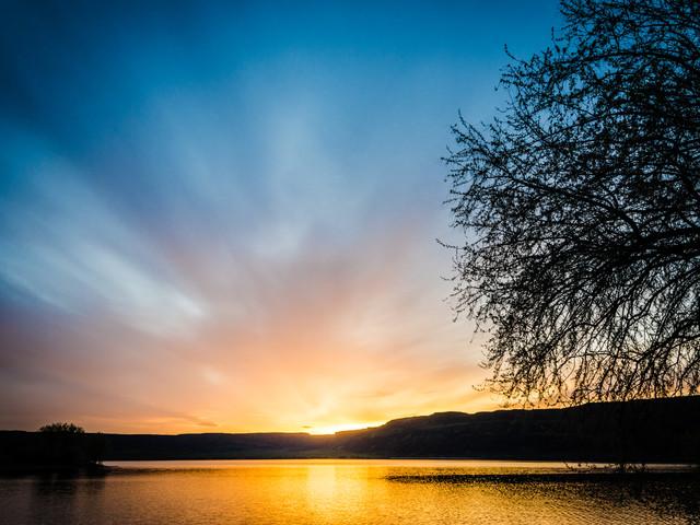 Banks Lake Sunset