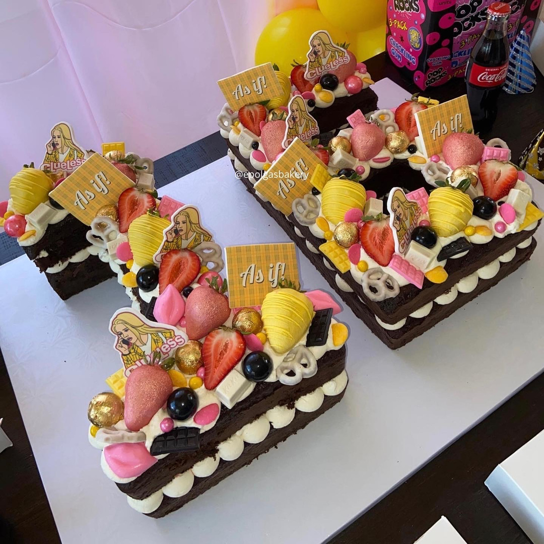 Large Clueless Number Cake