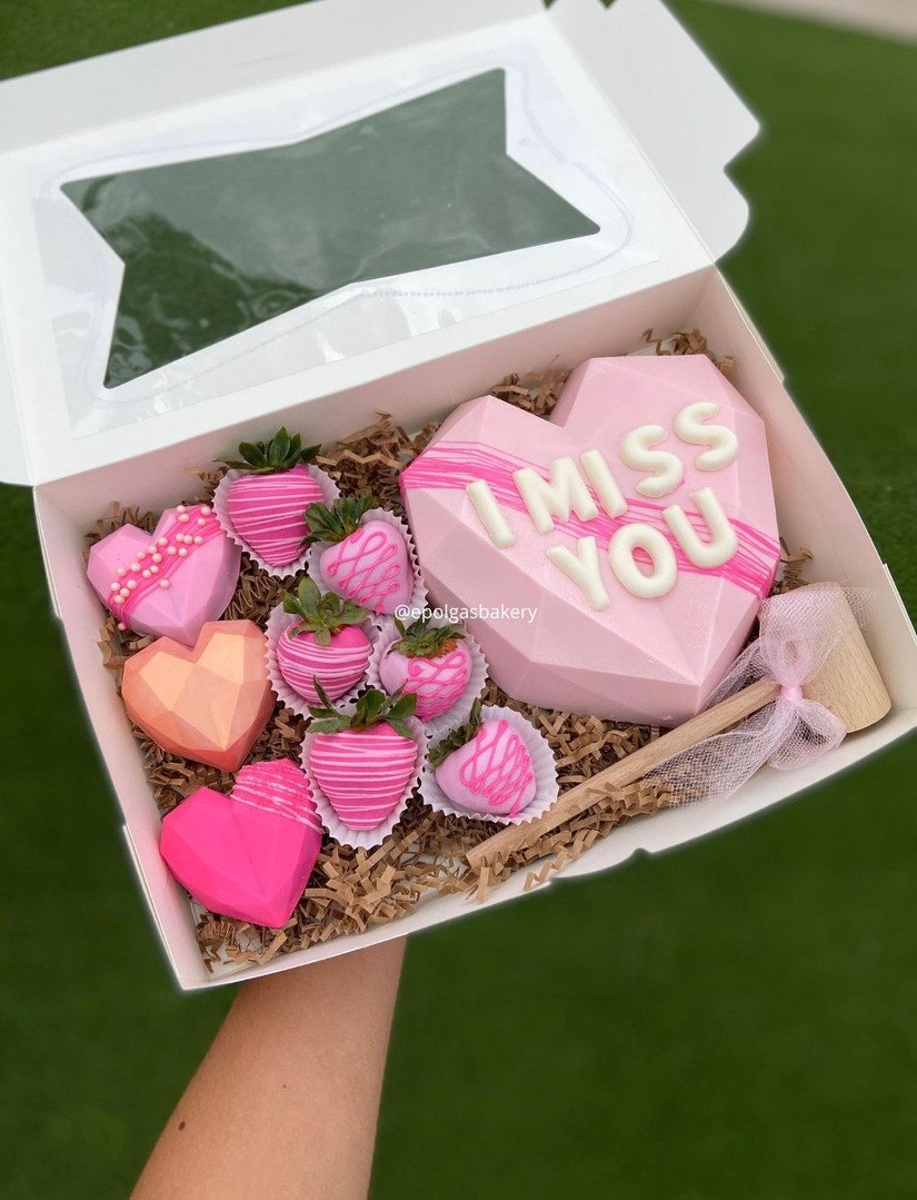 I Miss You Heart Box